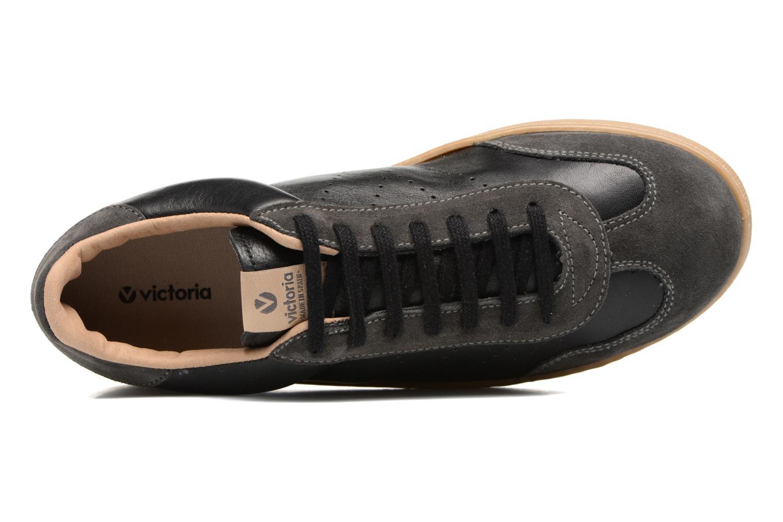 Sneakers Victoria Deportivo Ciclista Piel Zwart links
