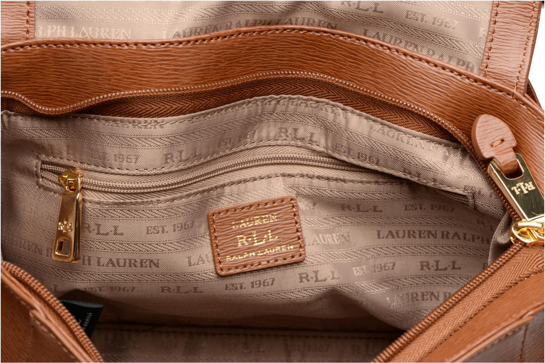 Sacs à main Lauren by Ralph Lauren Newbury Barclay Crossbody Marron vue derrière