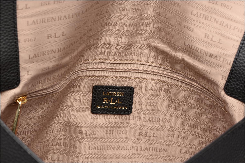 Sacs à main Lauren by Ralph Lauren Carrington Gabbi Shoulder Bag Noir vue derrière