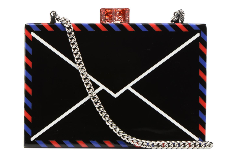 Sacs à main Karl Lagerfeld Postcard Minaudière Blanc vue face