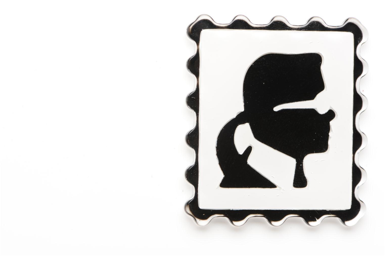 Sacs à main Karl Lagerfeld Postcard Minaudière Blanc vue gauche