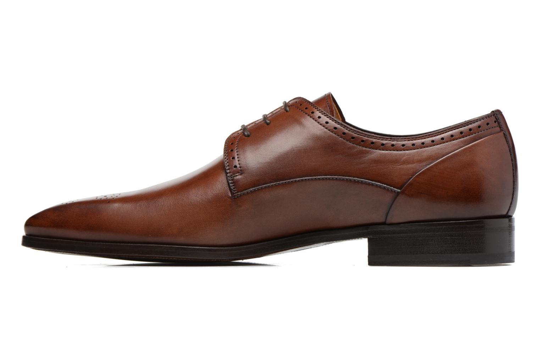 Chaussures à lacets Marvin&Co Luxe Pietu - Cousu Blake Marron vue face