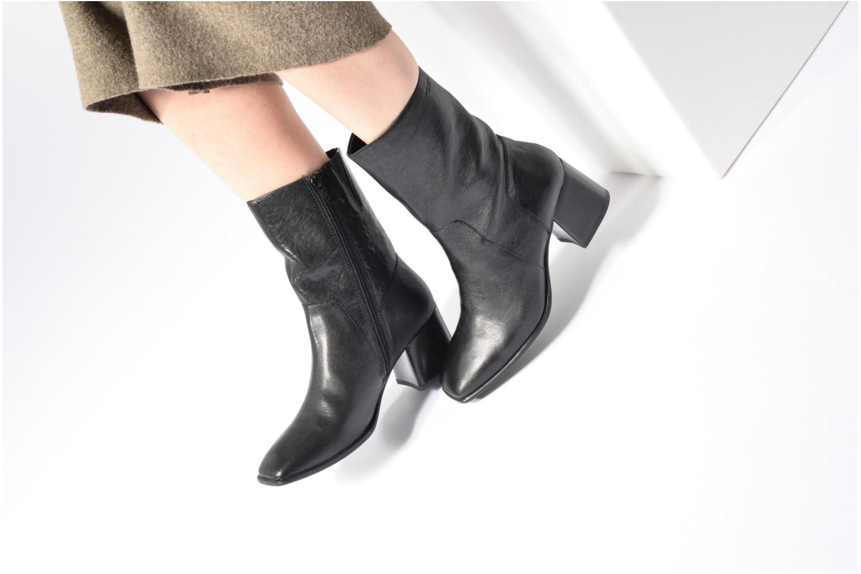 Bottines et boots Vagabond Luna 4432-001 Noir vue bas / vue portée sac