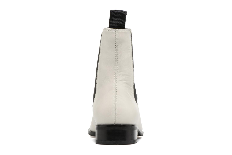 Bottines et boots Vagabond Cora 4400-001 Blanc vue droite