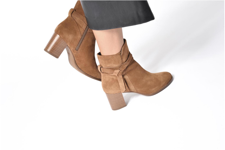 Bottines et boots Vagabond Shoemakers Lottie 4421-140 Marron vue bas / vue portée sac