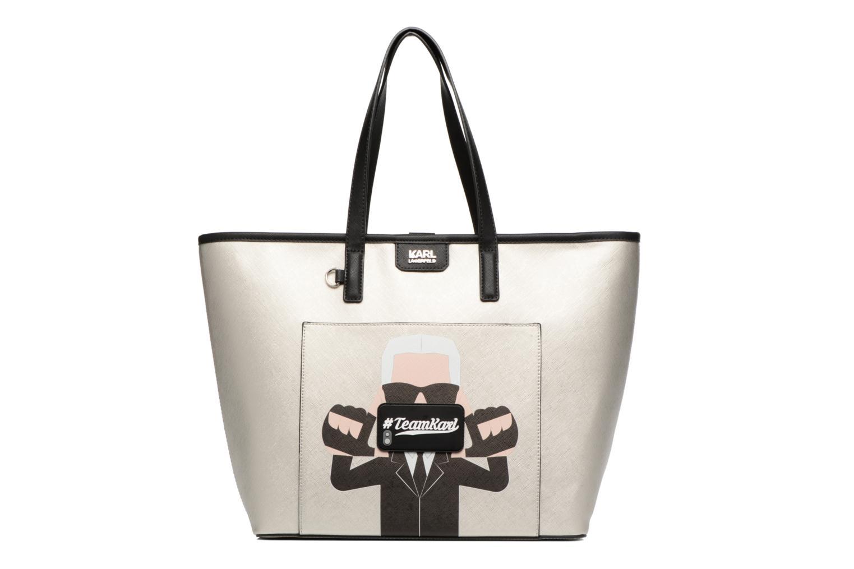 Borse Karl Lagerfeld Team Karl Shopper Argento vedi dettaglio/paio