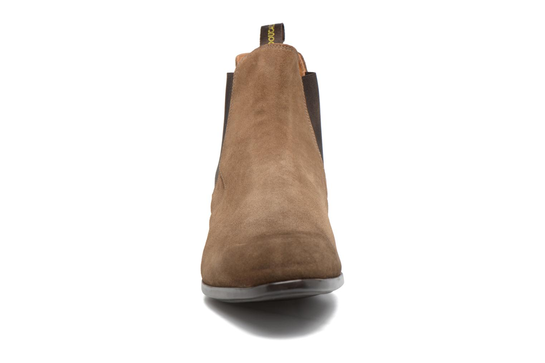 Bottines et boots Doucal's Octave Marron vue portées chaussures