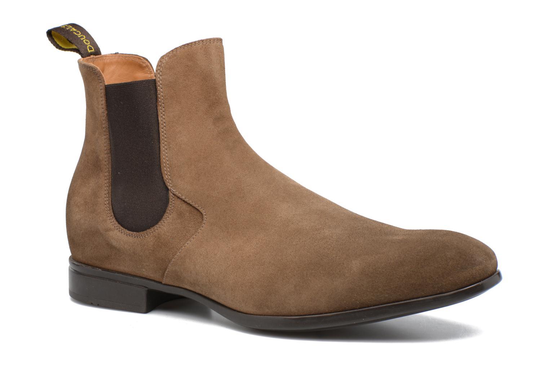 Bottines et boots Doucal's Octave Marron vue détail/paire