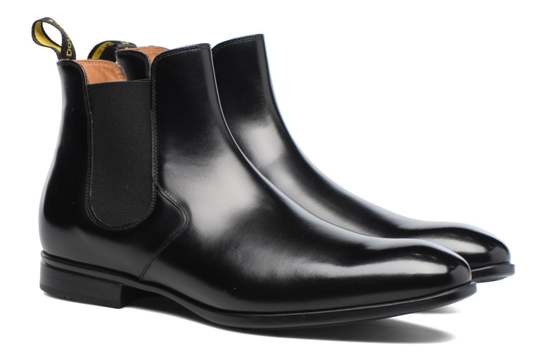 Bottines et boots Doucal's Octave Noir vue 3/4
