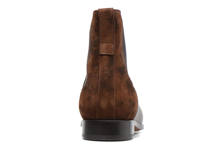 Bottines et boots Doucal's Guy Marron vue droite