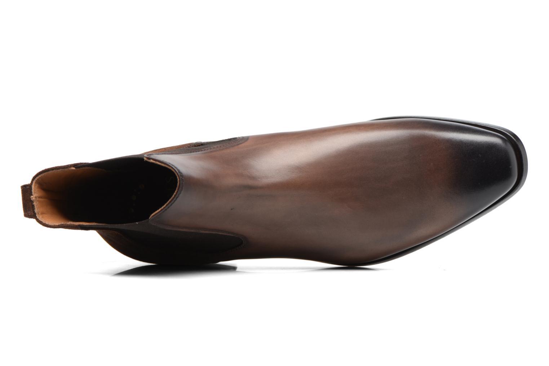 Bottines et boots Doucal's Guy Marron vue gauche