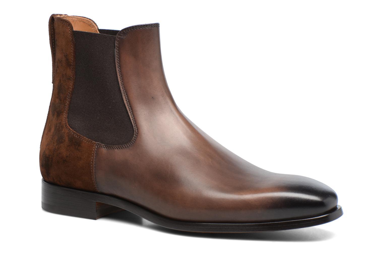 Bottines et boots Doucal's Guy Marron vue détail/paire