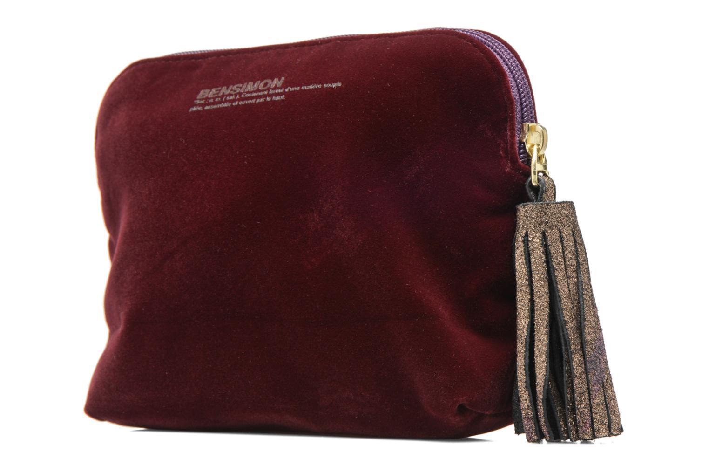 Kleine lederwaren Bensimon New pocket Bordeaux model