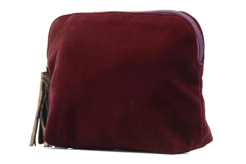 New pocket velours violet