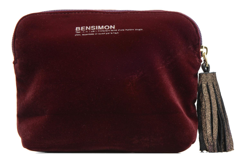 Kleine lederwaren Bensimon New pocket Bordeaux detail