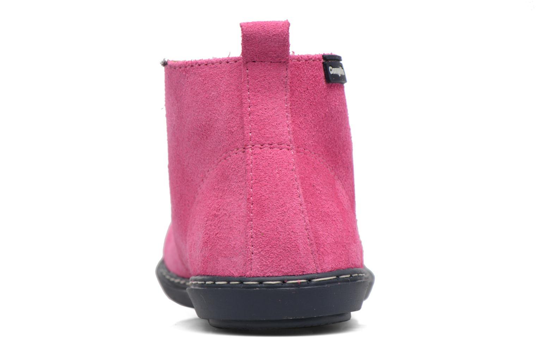 Chaussures à lacets Conguitos Lila Rose vue droite