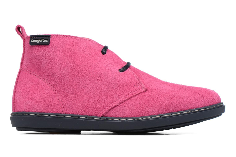 Chaussures à lacets Conguitos Lila Rose vue derrière