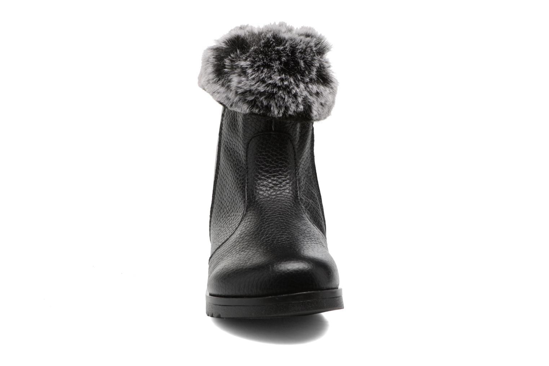 Bottes Conguitos Celia Noir vue portées chaussures