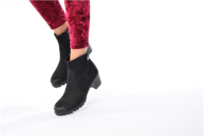 Bottines et boots Ara Mantova 47331 Noir vue bas / vue portée sac