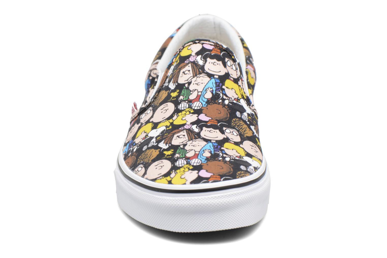 Sneakers Vans Classic Slip On W x Peanuts Multicolore modello indossato