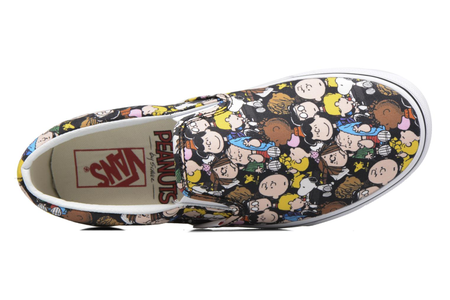 Classic Slip On W x Peanuts The Gang/Black