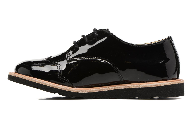Chaussures à lacets Young Soles Olive Noir vue face