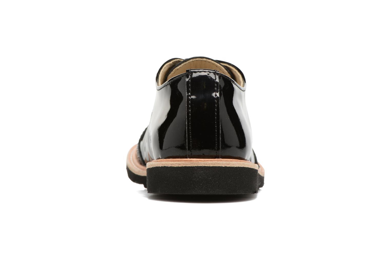 Chaussures à lacets Young Soles Olive Noir vue droite