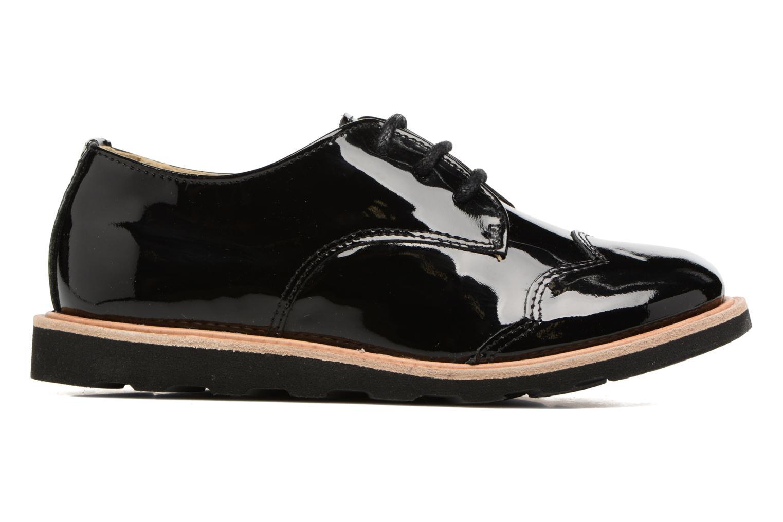Chaussures à lacets Young Soles Olive Noir vue derrière