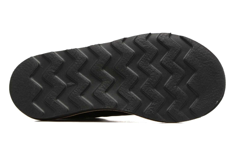 Chaussures à lacets Young Soles Olive Noir vue haut