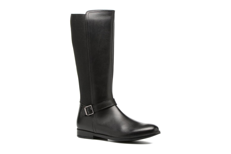 Grace Long Black leather