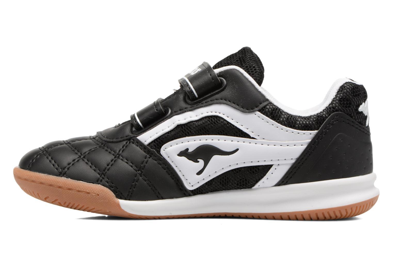 Baskets Kangaroos Power Comb V Noir vue face