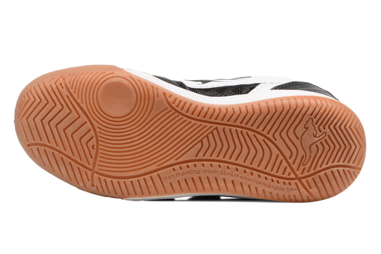 Baskets Kangaroos Power Comb V Noir vue haut