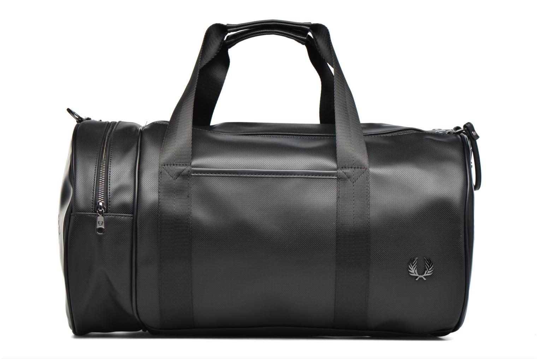 Sacs de sport Fred Perry Piqué Texture Barrel Bag Noir vue détail/paire