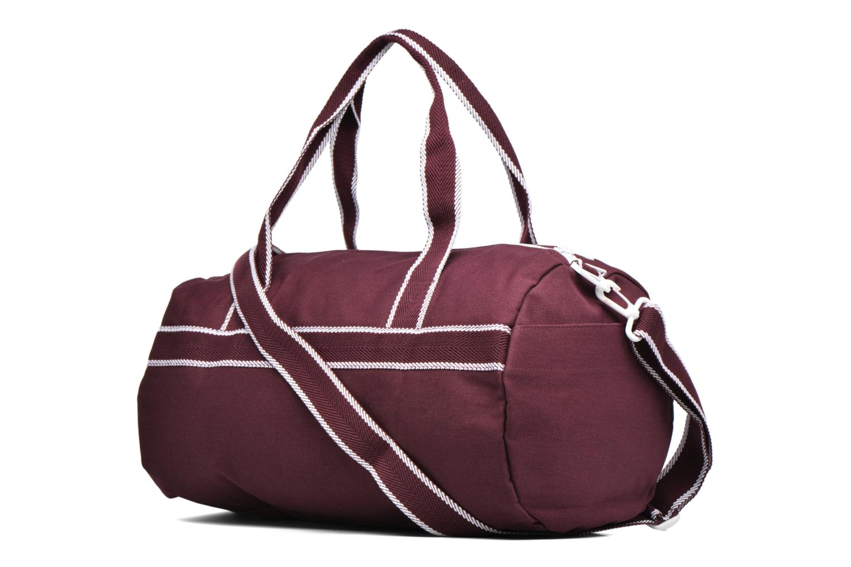 Sporttassen Fred Perry Sport Canvas Barrel Bag Rood rechts