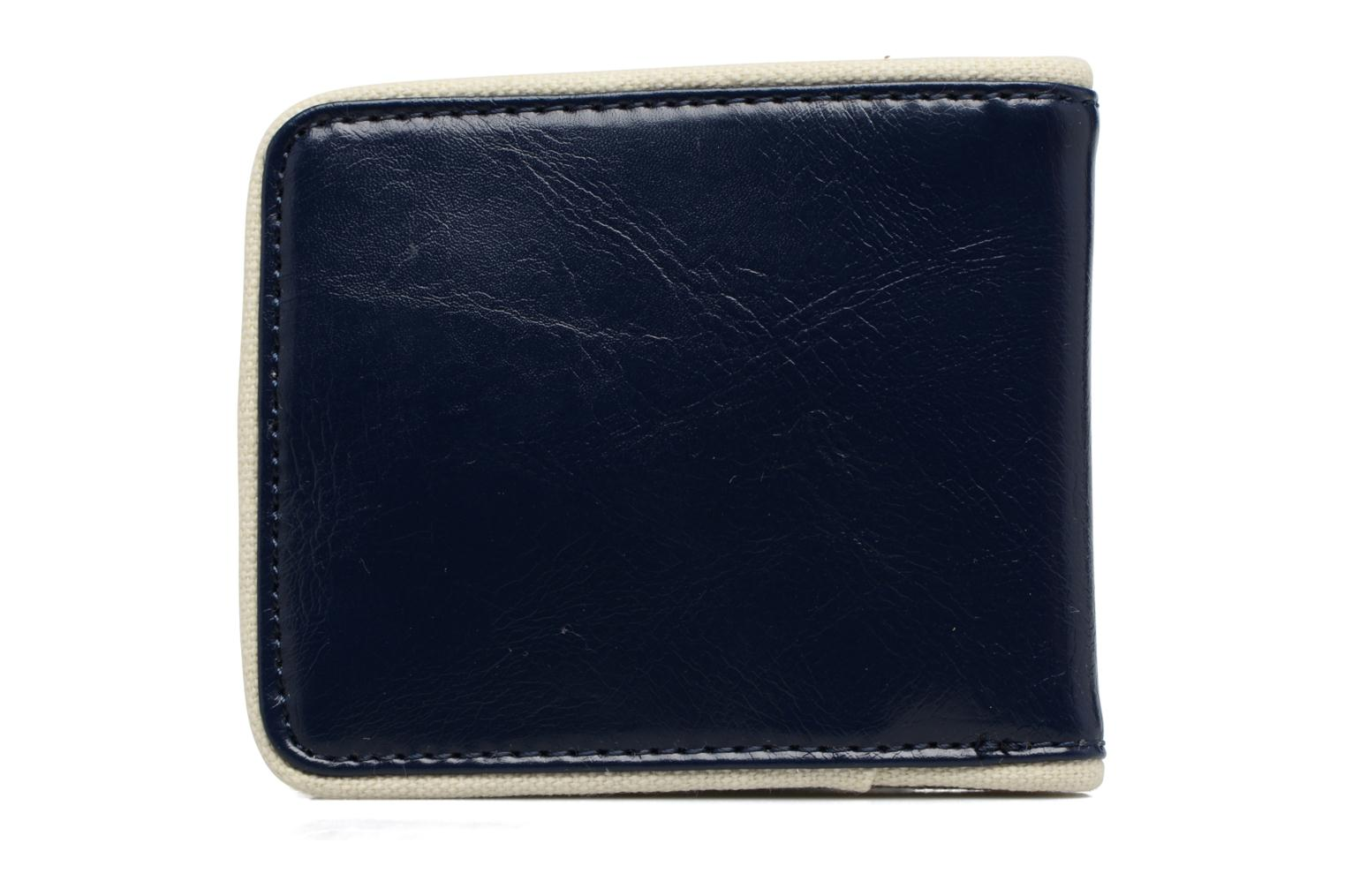 Petite Maroquinerie Fred Perry Classic Billfold Wallet Bleu vue face