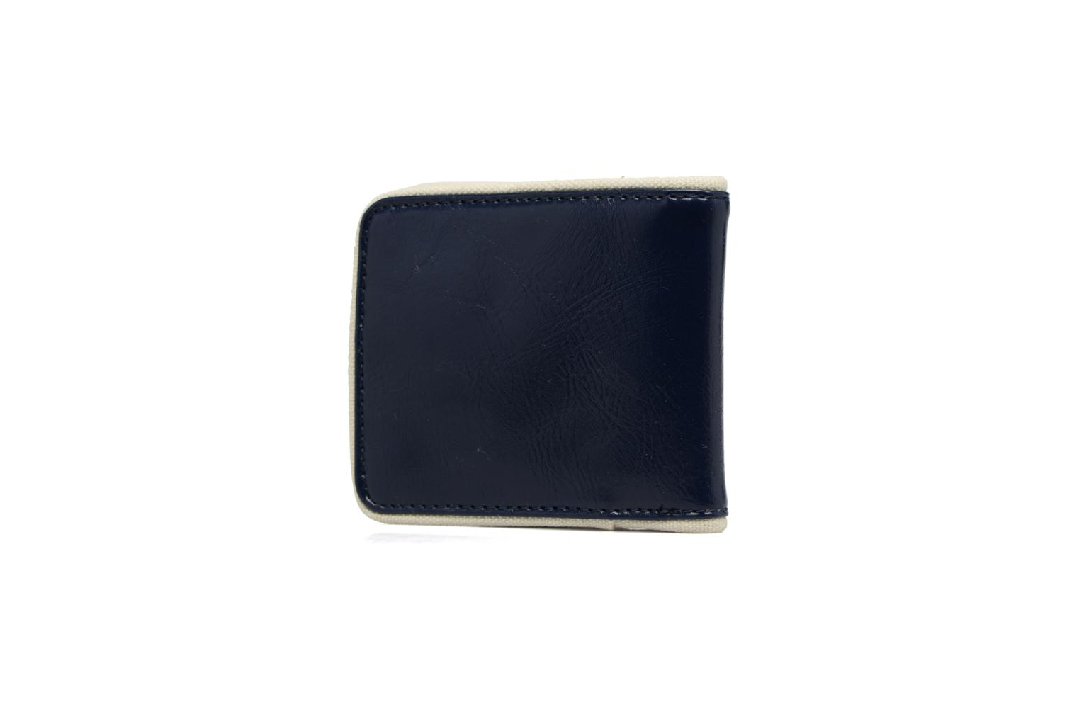 Petite Maroquinerie Fred Perry Classic Billfold Wallet Bleu vue droite