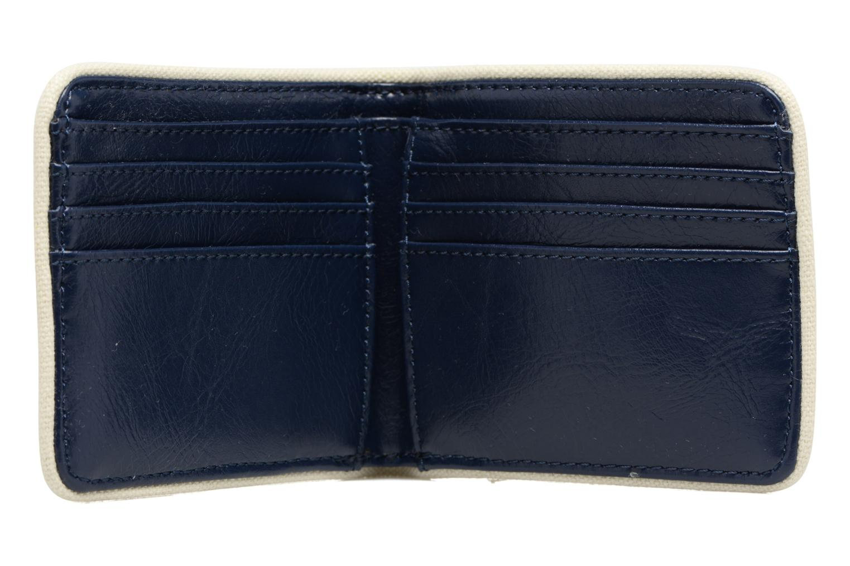 Petite Maroquinerie Fred Perry Classic Billfold Wallet Bleu vue derrière