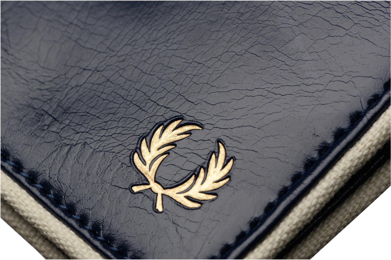 Petite Maroquinerie Fred Perry Classic Billfold Wallet Bleu vue gauche