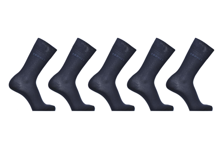 Chaussettes Unies Lot de 5 6210 marine