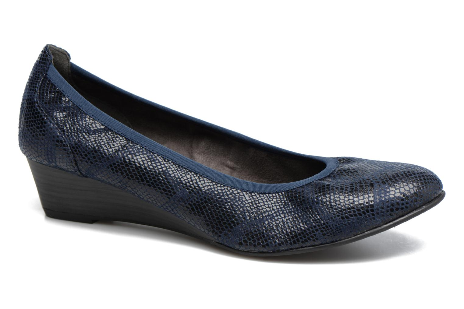 Ballet pumps Tamaris Isila Blue detailed view/ Pair view