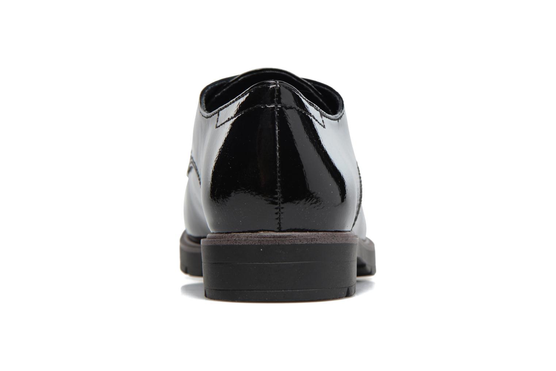 Chaussures à lacets Tamaris Virani Noir vue droite