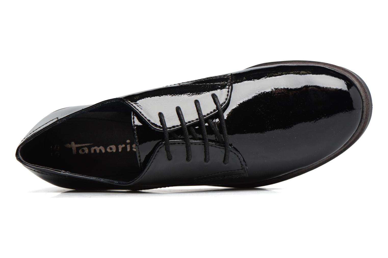 Chaussures à lacets Tamaris Virani Noir vue gauche