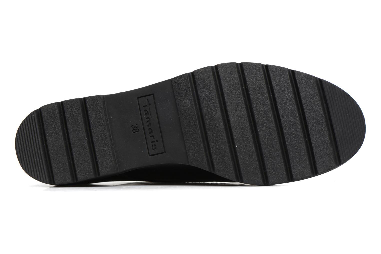 Chaussures à lacets Tamaris Virani Noir vue haut