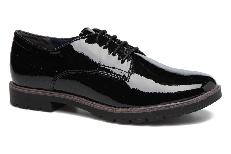 Chaussures à lacets Tamaris Virani Noir vue détail/paire
