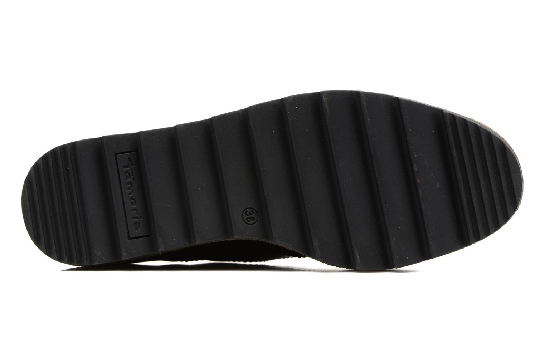 Chaussures à lacets Tamaris Wondrel Noir vue haut