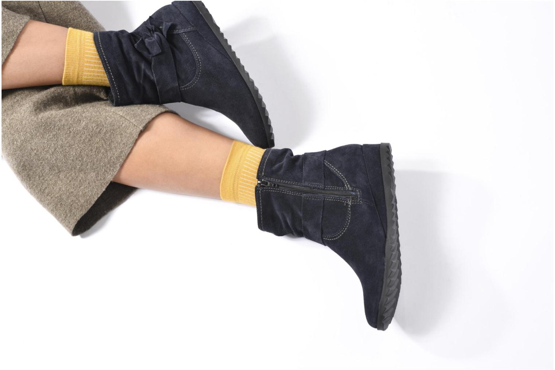 Bottines et boots Tamaris Ashana Gris vue bas / vue portée sac