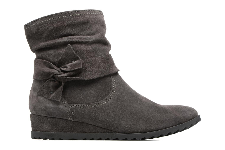 Ankle boots Tamaris Ashana Grey back view