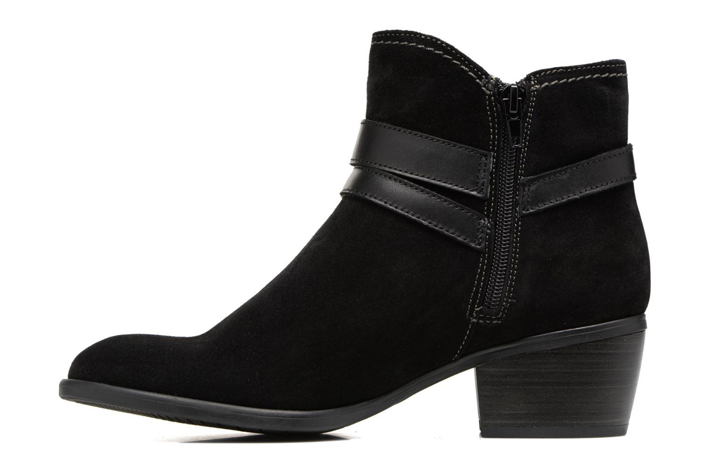 Boots en enkellaarsjes Tamaris Athellen Zwart voorkant