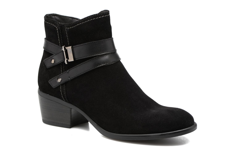 Boots en enkellaarsjes Tamaris Athellen Zwart detail