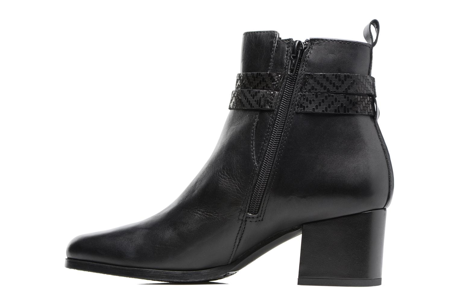 Bottines et boots Tamaris Diningal Noir vue face